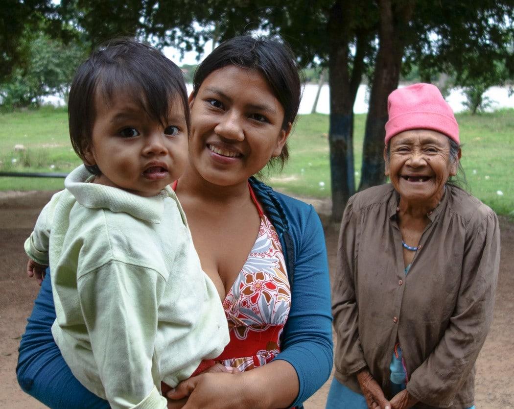 Jessica z synem i babką