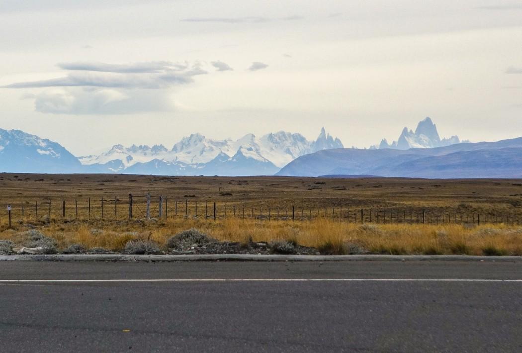 Ruta 40: Widok na masyw Fitz Roy i Cerro Torre