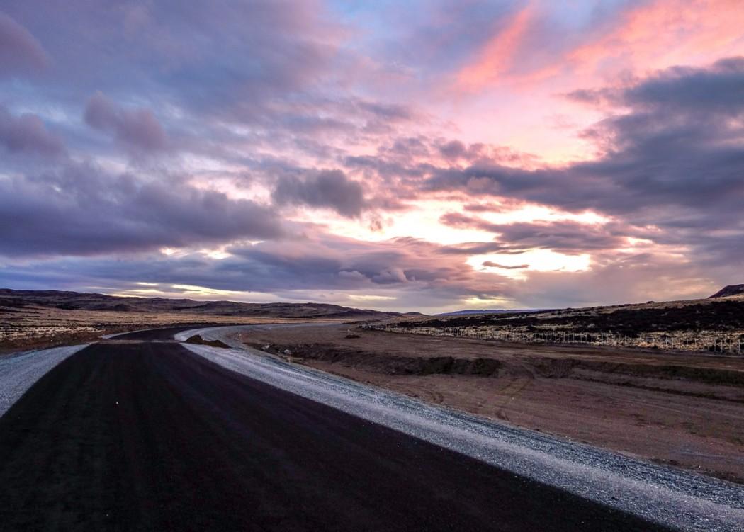 Ruta 40: 60 km na północ od El Chalten